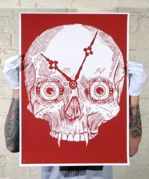 SkullClockweb